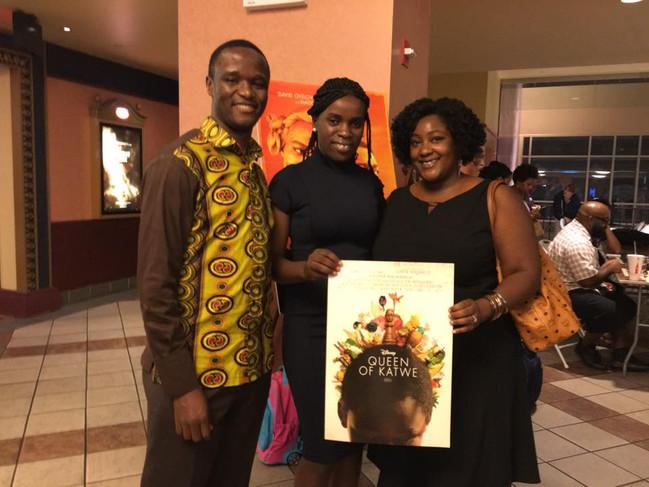Chess Experts, David Oyelowo & Madina Na