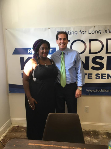NYS Congressional Candidate Anna Throne-