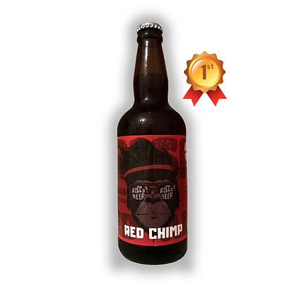 Caja x12 uni. Cerveza artesanal Rocco Beer 500cc Red Chimp