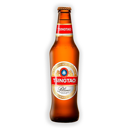 Cerveza Tsingtao bot 330cc Pilsner