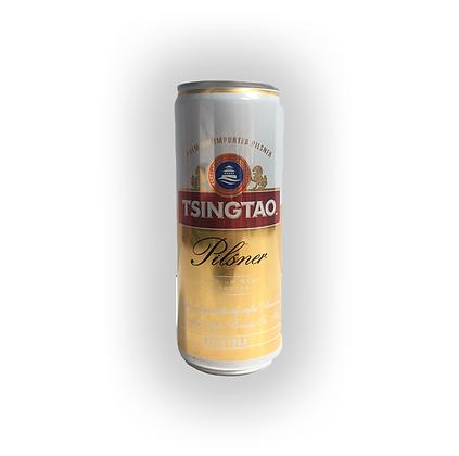 Cerveza Tsingtao Pilsner Lata 330 cc