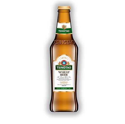 Cerveza Tsingtao Bot 330cc Wheat Beer