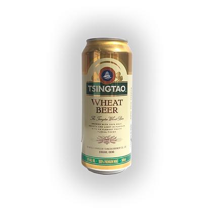 Cerveza Tsingtao Wheat Lata 500cc