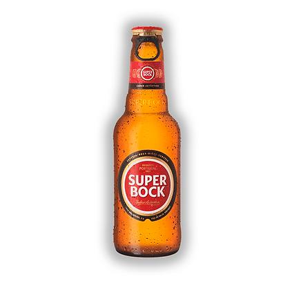 Cerveza Super Bock Mini Bot. 250cc Caja x24 uni.