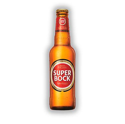 Caja x24 uni. Cerveza Super Bock Bot. 330cc