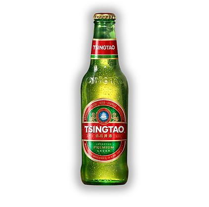 Caja x24 Uni. Cerveza Tsingtao Bot. 330cc