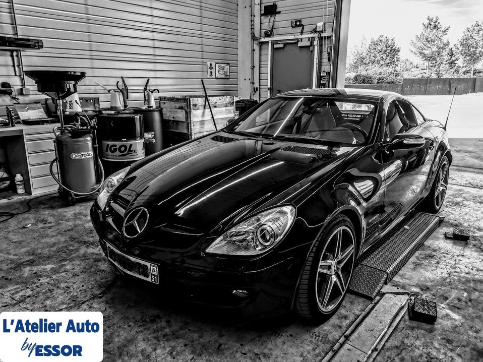 mb slk CENTRE AUTO REIMS BETHENY ENTRETI