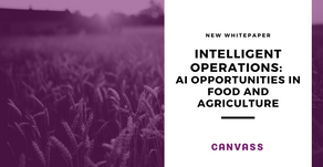 Intelligent Operations: AI opportunities for food and agriculture