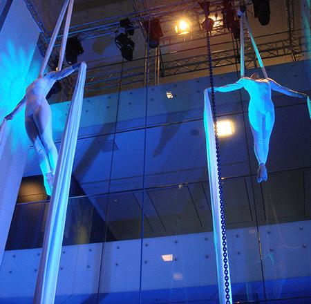 Art en Air Vertikaltuch synchron