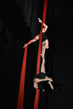 Art en Air Vertikaltuch duo