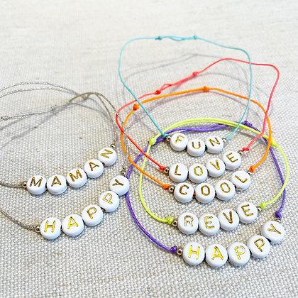 Bracelets Madrid personnalisables