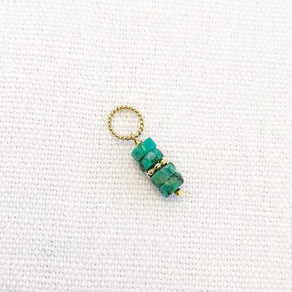 Pendentif turquoises