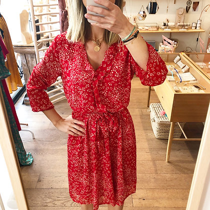 Robe Annabelle rouge
