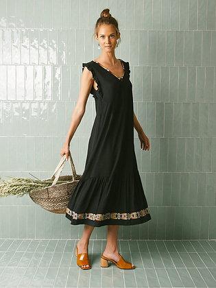 Robe noire Keira