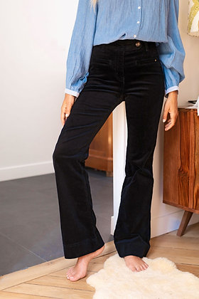 Pantalon Marcéo velours