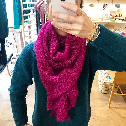 Etole Mohair et soie tricotée main