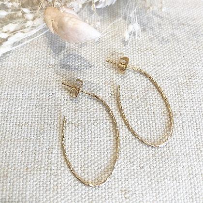 Boucles d'oreilles Domy