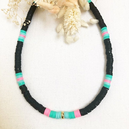 Collier surfeur black