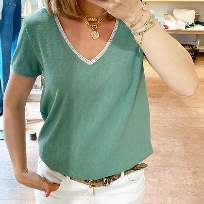 Tee-shirt Carillon Vert