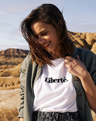 """Tee-shirt """"Liberté"""""""