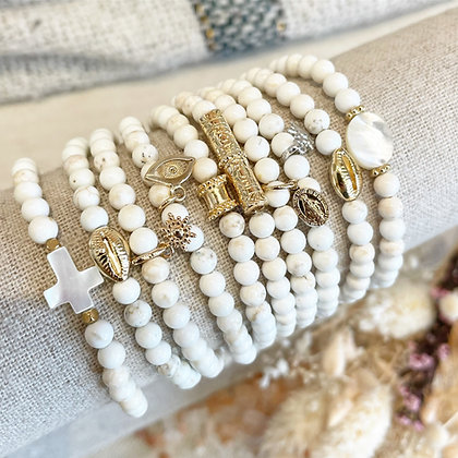 Bracelets Téva blancs