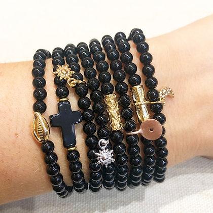 Bracelets Téva noirs
