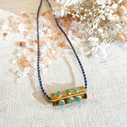 Collier Amulette Reika