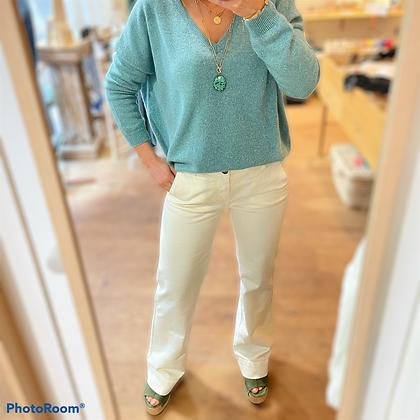Pantalon Louise écru