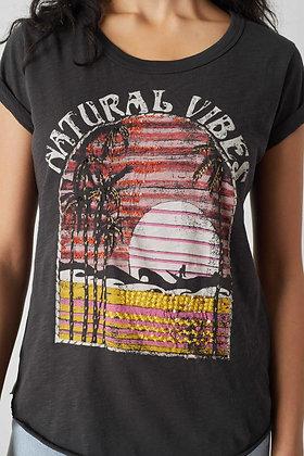 Tee-shirt Tova Vibes carbone