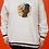 Thumbnail: 1990's Comfy Knitted Dog Pullover