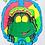 Thumbnail: Vintage 1991 Senor Frog's Green Peace Tank