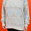 Thumbnail: Geometric 1980's Triangle Print Pullover Sweater