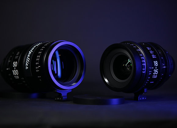 SIGMA Cine Zoom KIT 18-35 mm & 50-100mm T2.0 - PL