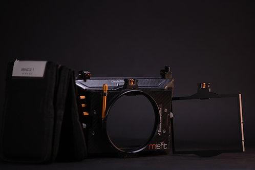 Mattebox Clip-On Bright Tangerine 4x5.65