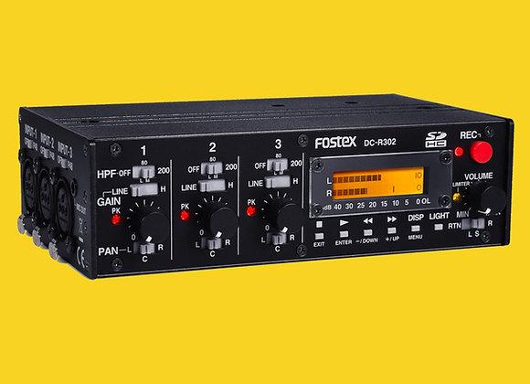 Enregistreur Mixette FOSTEX DC-R302