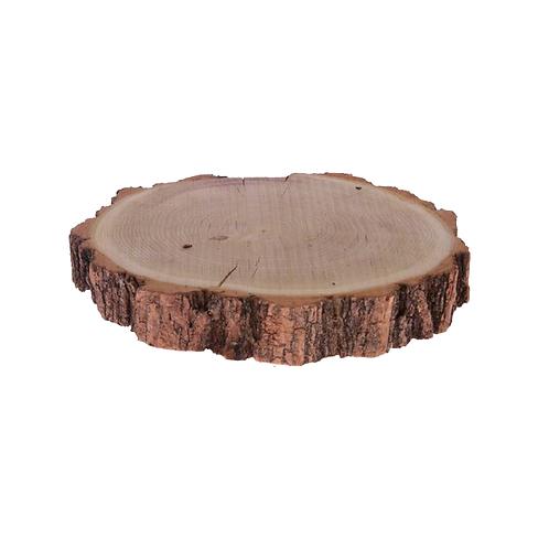 Schijf acacia, ±25 cm naturel
