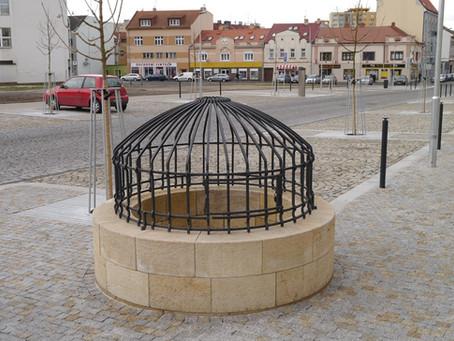 Centrum Kralup se občanům představilo v novém. Nechybí ani vytoužená fontána s vodotryskem či zrekon