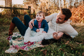 Family Session in Furlong, PA
