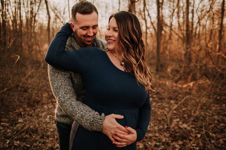 Maternity session in Newtown, PA