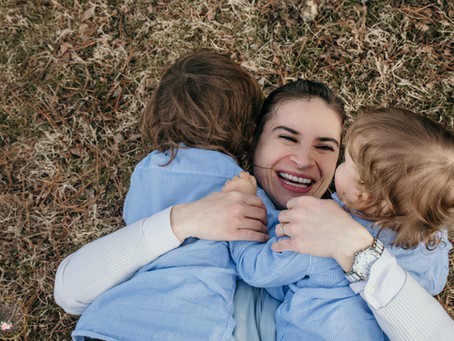 Mommy & Me Session - Vendula and her boys