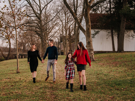 Family Session in Washington Crossing, PA