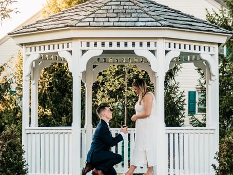 Proposal in Doylestown, PA