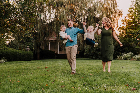 Family Session in Fort Washington, PA