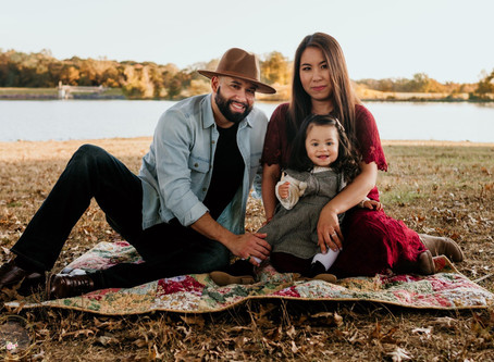 Core Creek Park Family Session