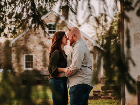 Couples Session in Washington Crossing, PA