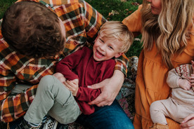 Family Session in Yardley, PA