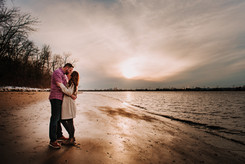 Couples session in Palmyra, NJ