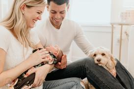 Newborn session in Hatboro, PA