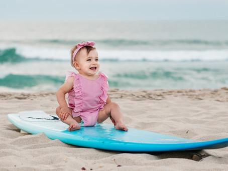 Birthday Beach Babe