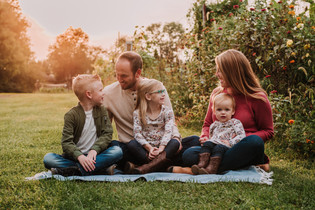 Family Session in Langhorne, PA